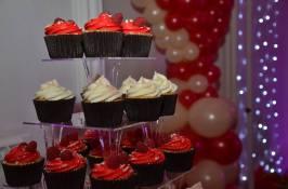 White Chocolate and Raspberry Tower
