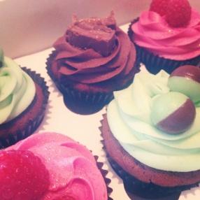 Mars Bar Cupcake