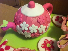 Tea Party Cake - The Teapot