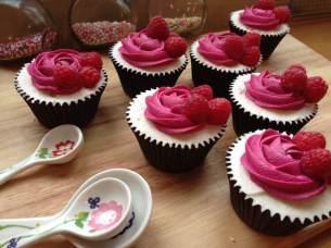 White Chocolate and Raspberry